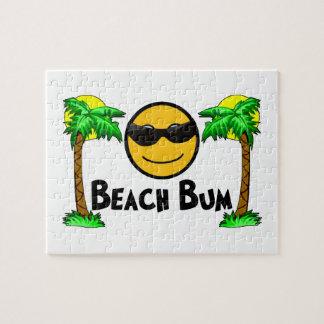 Beach Bum Sunshine & Palm Trees Puzzle
