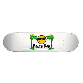 Beach Bum Sunshine & Palm Trees Skateboard Deck