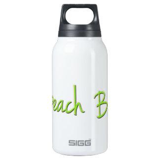 Beach bum surf board flip flops! insulated water bottle