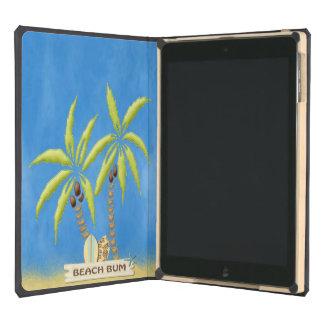 Beach Bum, Surfboards, Palm Trees and Sand iPad Air Case