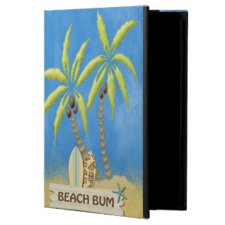 Beach Bum, Surfboards, Palm Trees and Sand iPad Air Cases