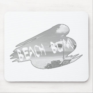 Beach Bum Transparency Mouse Pad