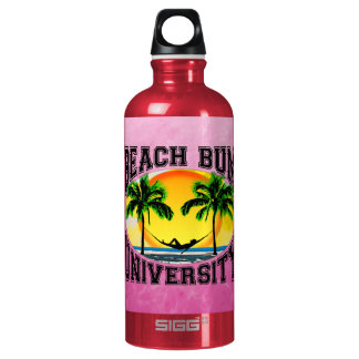 Beach Bum University Aluminum Water Bottle