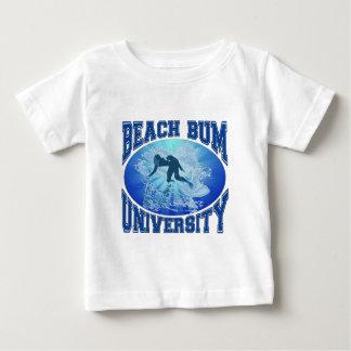 Beach Bum University Baby T-Shirt
