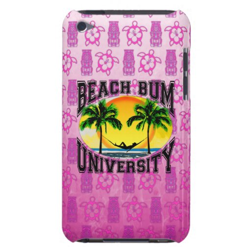 Beach Bum University Barely There iPod Covers