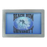 Beach Bum University Belt Buckle
