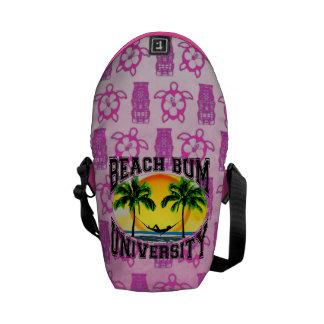 Beach Bum University Courier Bags