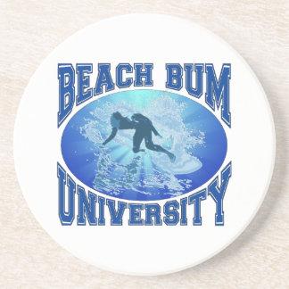 Beach Bum University Drink Coaster
