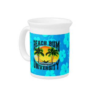 Beach Bum University Drink Pitcher