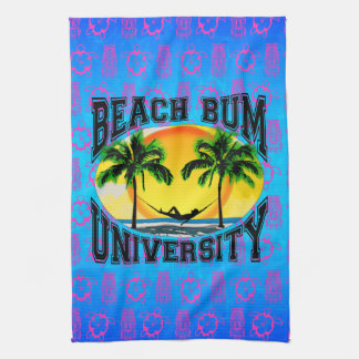 Beach Bum University Hand Towel