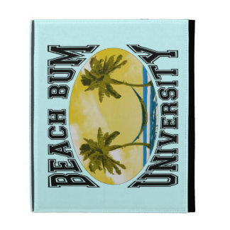 Beach Bum University iPad Case