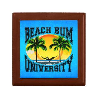 Beach Bum University Keepsake Box
