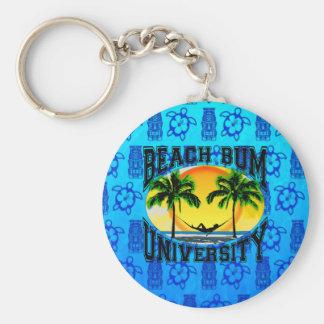 Beach Bum University Keychains