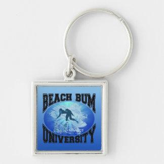 Beach Bum University Keychain