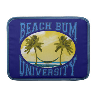 Beach Bum University MacBook Air Sleeve
