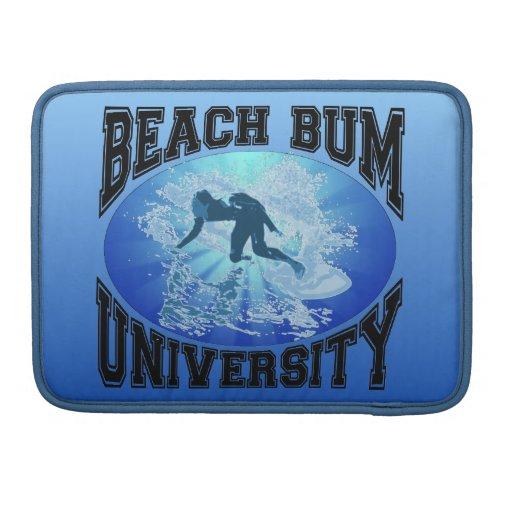 Beach Bum University MacBook Pro Sleeves