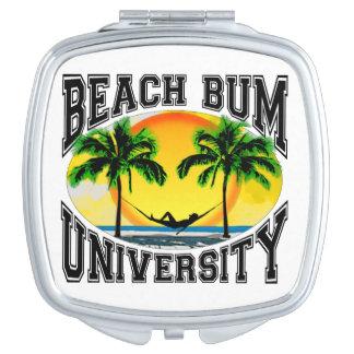 Beach Bum University Makeup Mirror