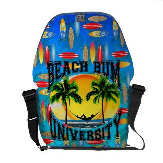 Beach Bum University Messenger Bag