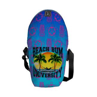 Beach Bum University Messenger Bags