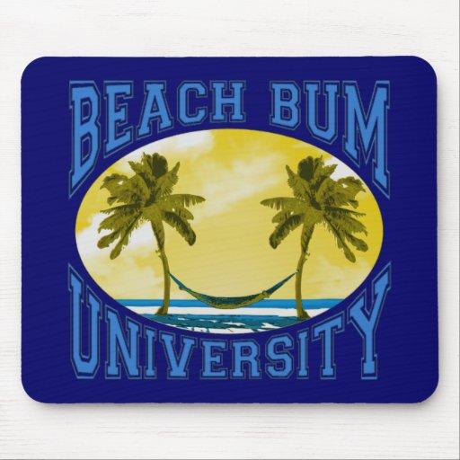 Beach Bum University Mouse Pad