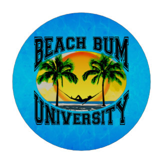 Beach Bum University Set Of Poker Chips