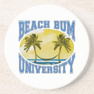 Beach Bum University Sandstone Coaster