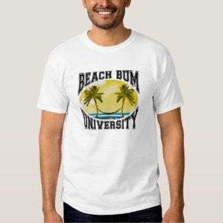 Beach Bum University Tee Shirt
