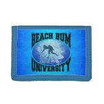 Beach Bum University Wallet