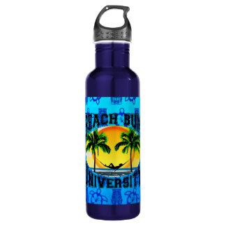 Beach Bum University Water Bottle