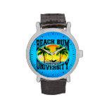 Beach Bum University Wrist Watches