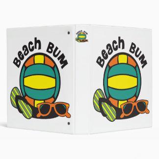 Beach Bum Volleyball 3 Ring Binder