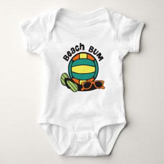 Beach Bum Volleyball Baby Bodysuit