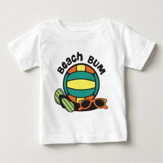 Beach Bum Volleyball Baby T-Shirt