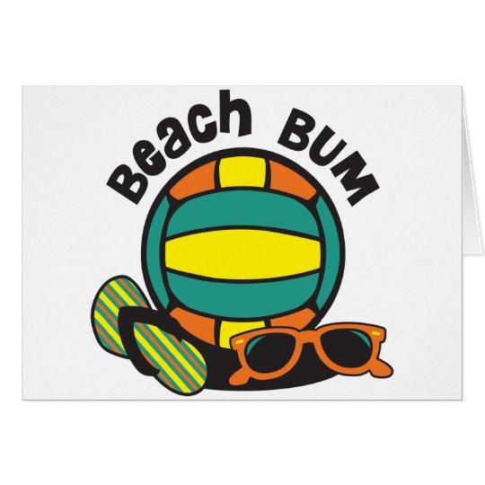 Beach Bum Volleyball Card