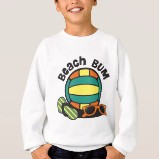 Beach Bum Volleyball Sweatshirt