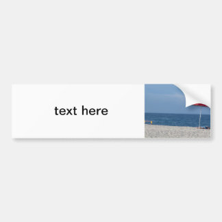 Beach Bumper Sticker