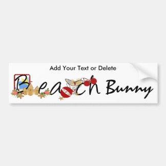 Beach Bumper Sticker by SRF