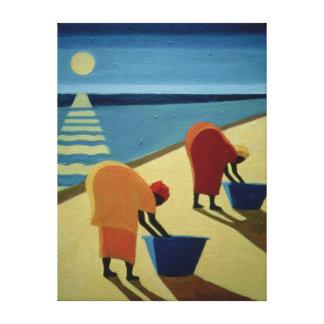Beach Bums 1997 Canvas Print