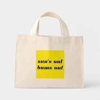 Beach Bums Love the Sun Mini Tote Bag