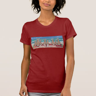 """Beach Bunnies"" Rabbits at the Beach Ladies' T T-Shirt"