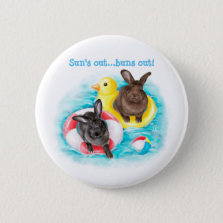 Beach Buns Button