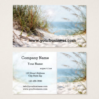 Beach Business Card