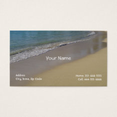 Beach Business Cards at Zazzle