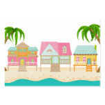 Beach Business / Enclosure Card / Tag - SRF Large Business Cards (Pack Of 100)