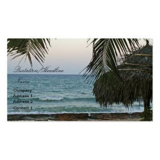 Beach Cabana Business Card