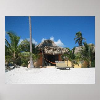 Beach Cabana Print