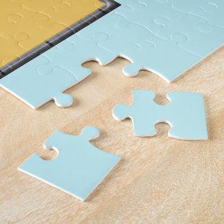 Beach Cabanas Jigsaw Puzzle