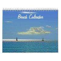 Beach Calendar