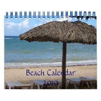 Beach Calendar 2010