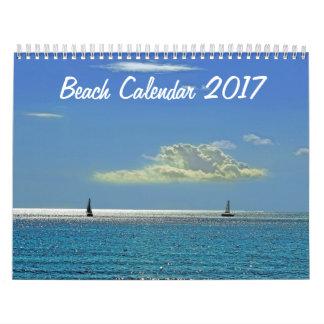 Beach Calendar 2017